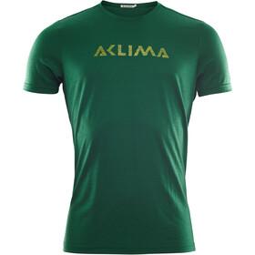 Aclima LightWool Logo T-shirt Herrer, grøn
